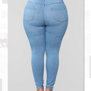 Fashion Nova Plus Size Jeans